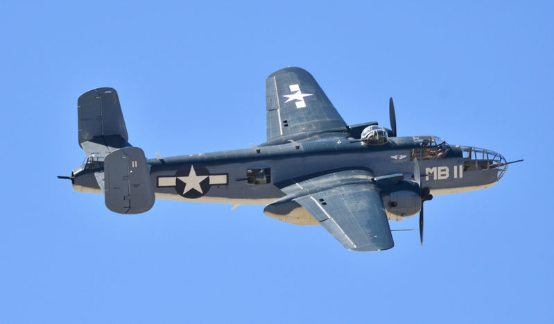 B27 Mitchell Bomber
