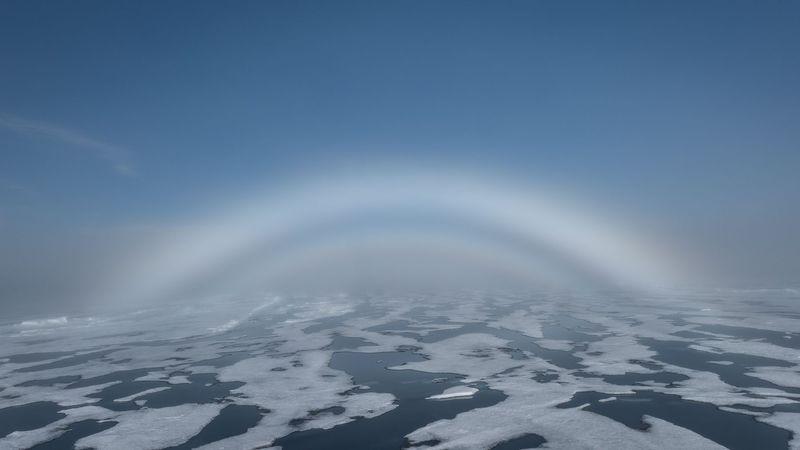 Arctic fogbow