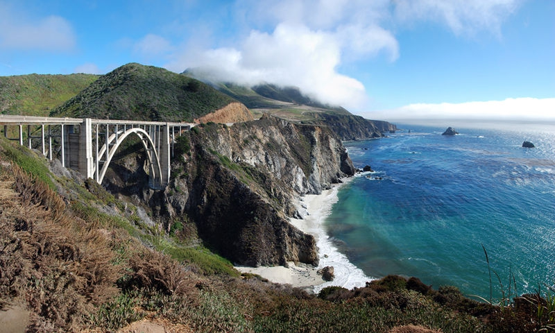 Bixby Bridge Highway 1 California
